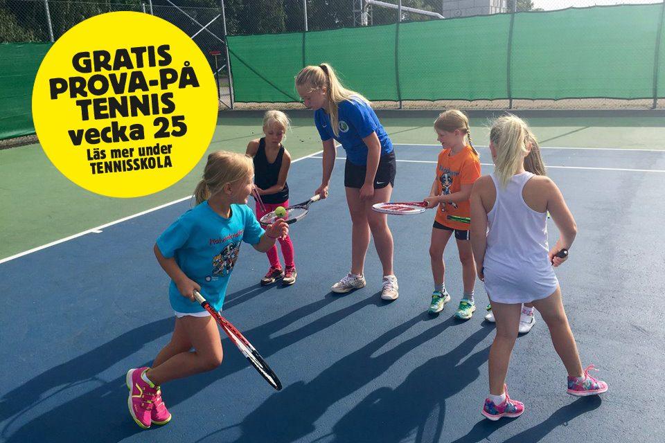 Dags att anmäla till tennisskolan!